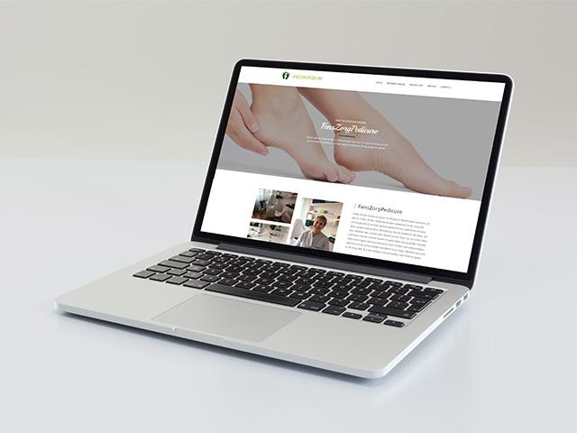 Fens zorgpedicure - case mannetje van het web - hoofdafbeelding
