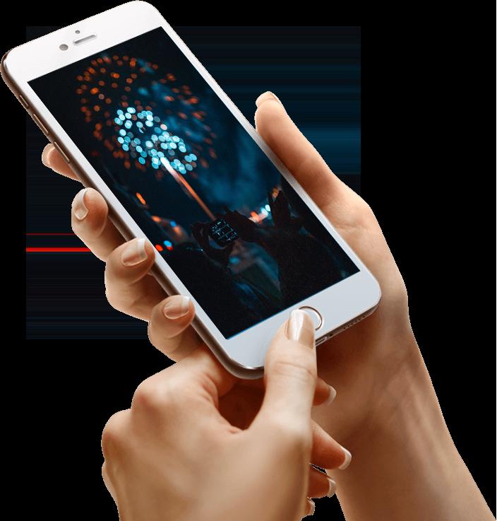 Home afbeelding mobiel met afbeelding - Mannetje van het web